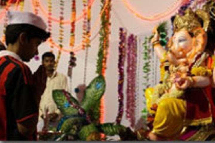 D Y Patil International School-Festival celebrations
