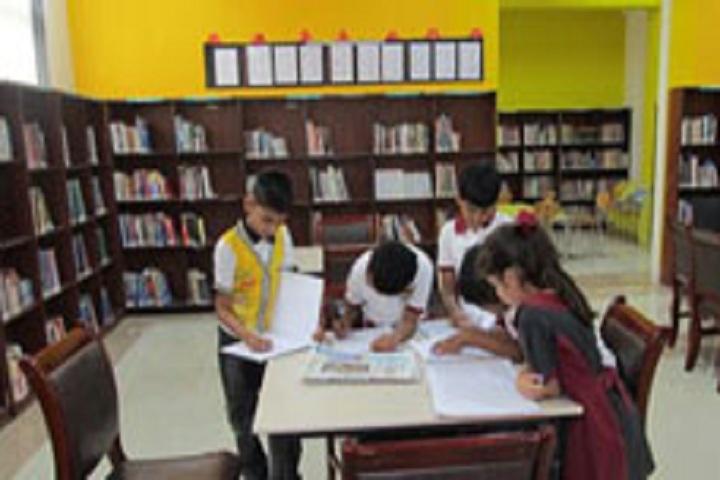 D Y Patil International School-Library