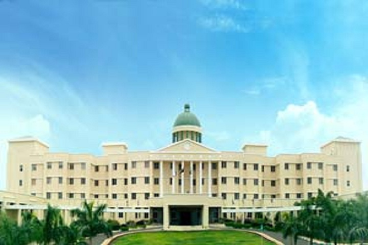 D Y Patil International School-School building