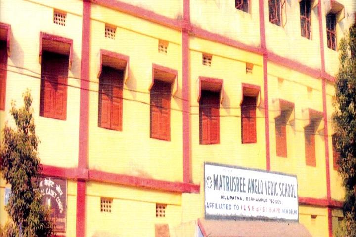 Matrusri Anglo Vedic School-School building
