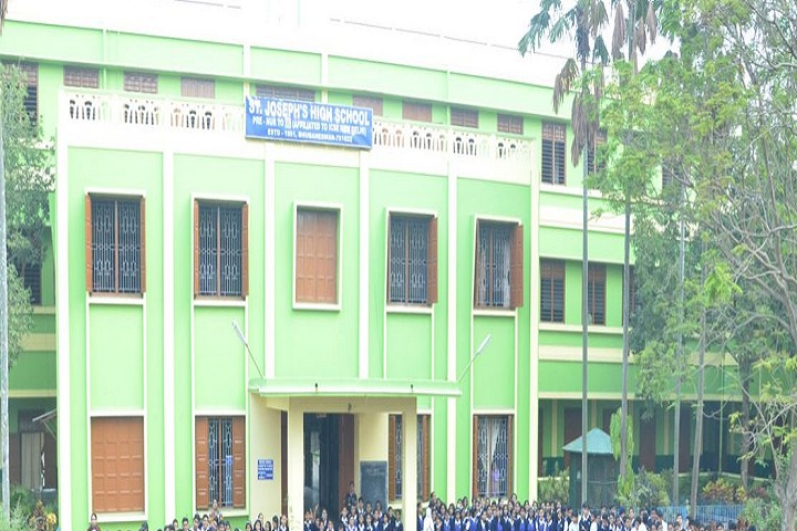 St Josephs High School-School building