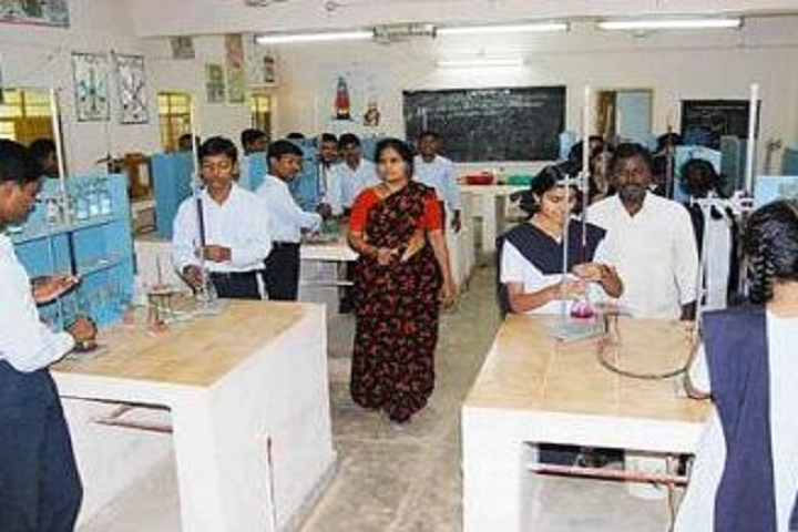 Jawahar Navodaya Vidyalaya - Chemistry Lab