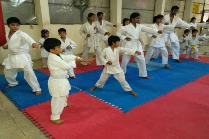 Dronacharya Public School-Karate
