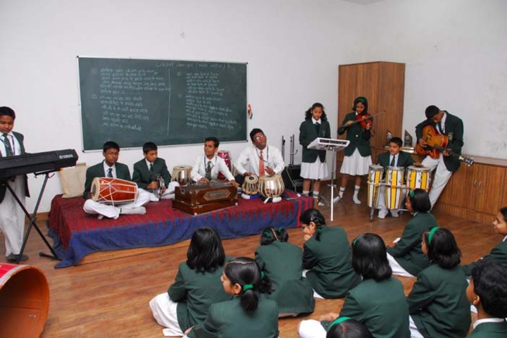 Dronacharya Public School-Music room