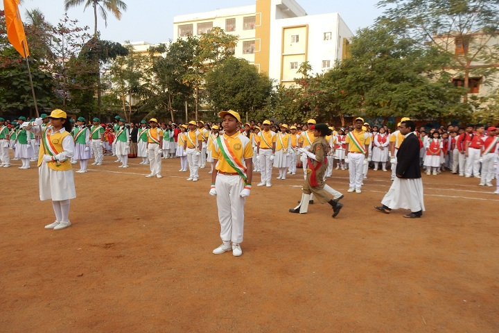 De Paul School-Republic day celebrations