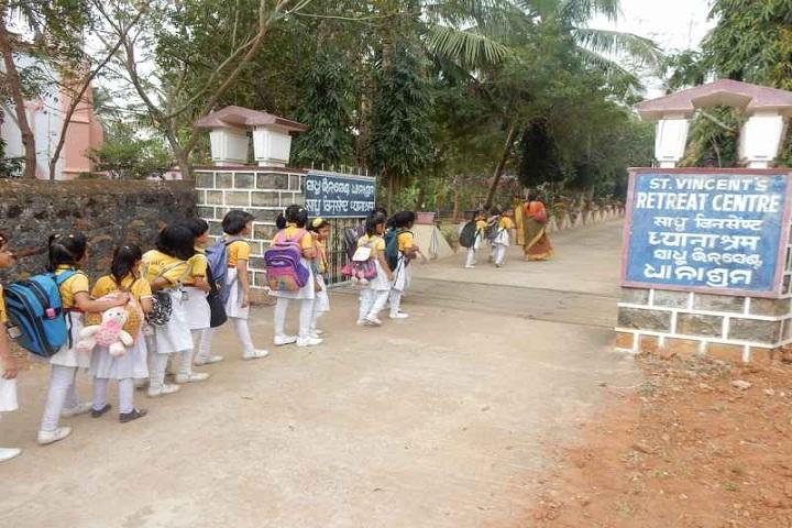 De Paul School-School entrances