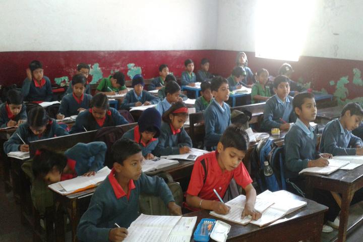 Gandhi Memorial Higher Secondary School-Classroom