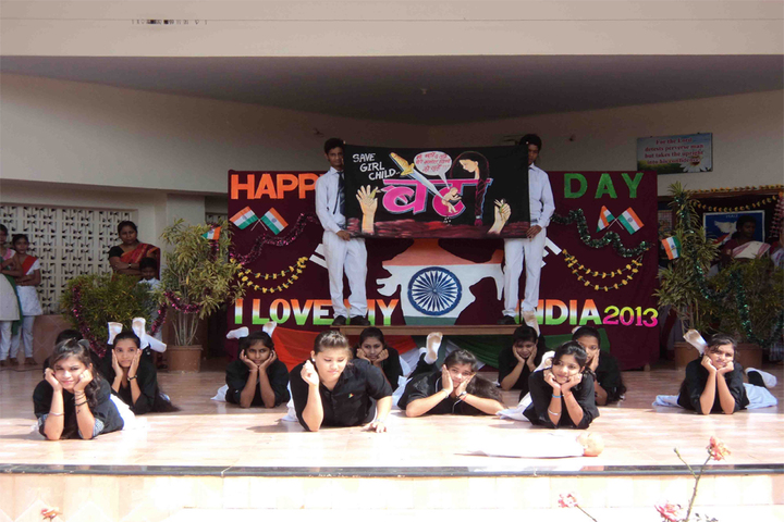 Gandhi Memorial Higher Secondary School-Republic day Celebration