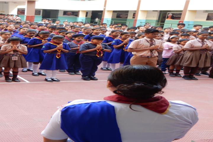 Saint Arnolds School-Morning Assembly