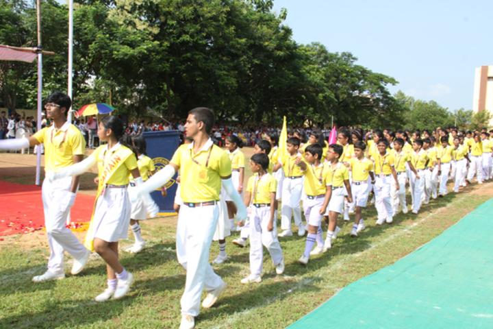 Saint Arnolds School-March past