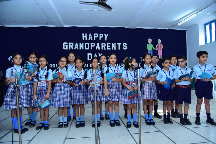 Assumption Convent School-Grand Parents day
