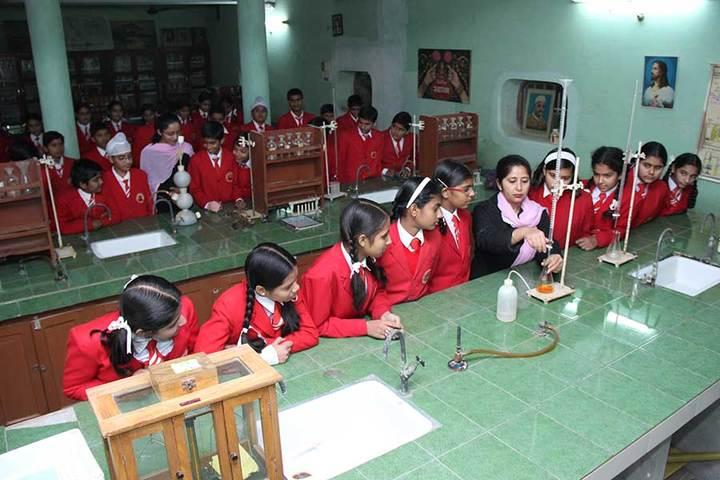 Little Flower Convent School - Chemistry Lab
