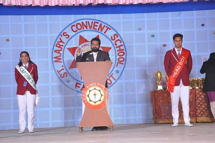 St Marys Convent School - Speech