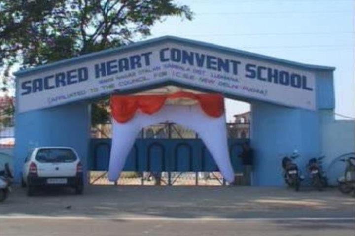 Sacred Heart Convent School-School Entrance