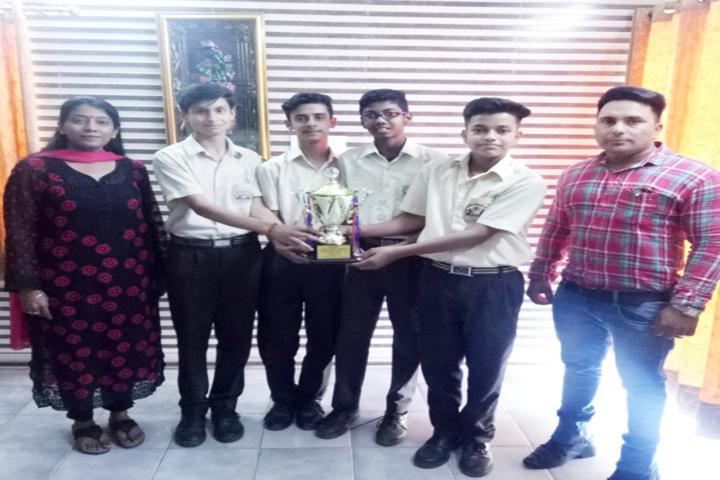New Angel Public School-Award