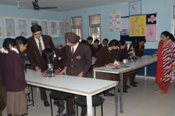 New Angel Public School-Biology Lab