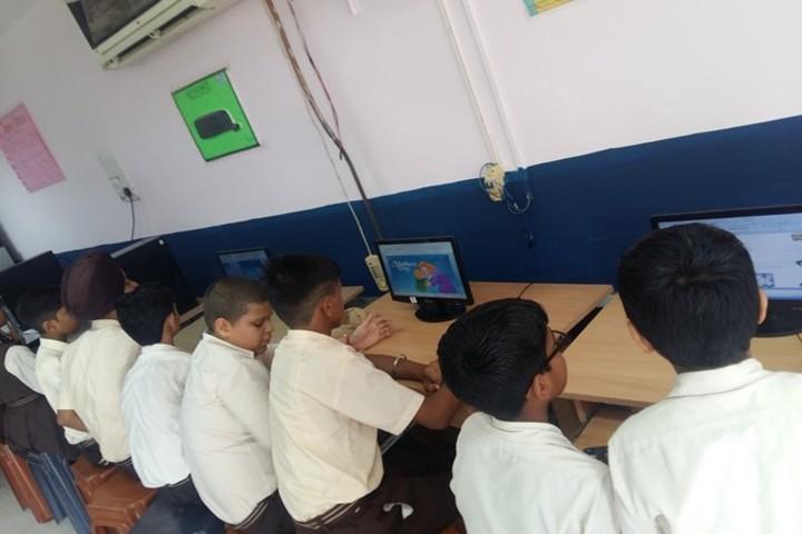 New Angel Public School-Computer Lab