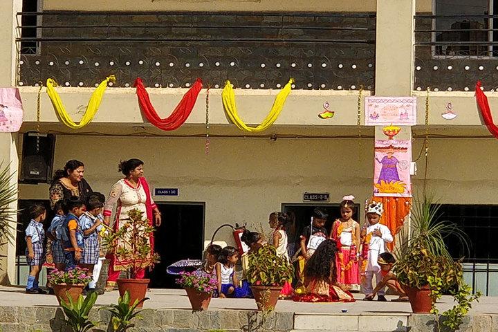 New Angel Public School-Diwali Celebration