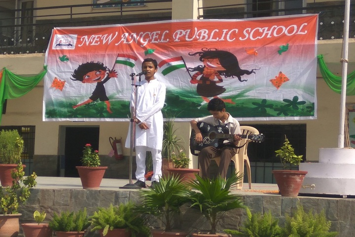 New Angel Public School-Independence Day