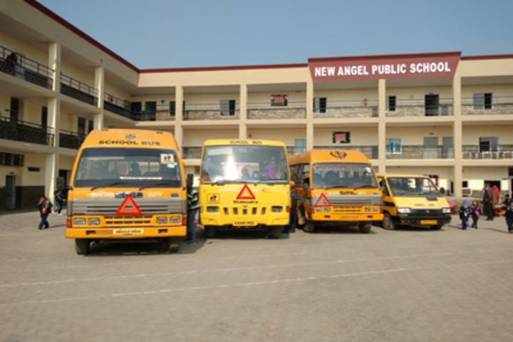 New Angel Public School-Transport