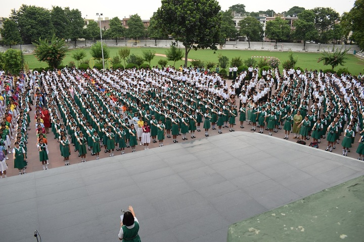 St Xaviers High School-Assembly