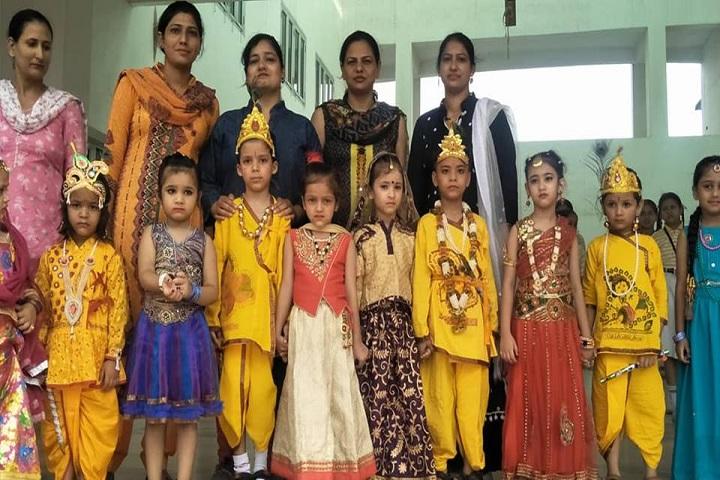 H R A International School-Festival Celebration
