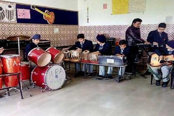 H R A International School-Music room