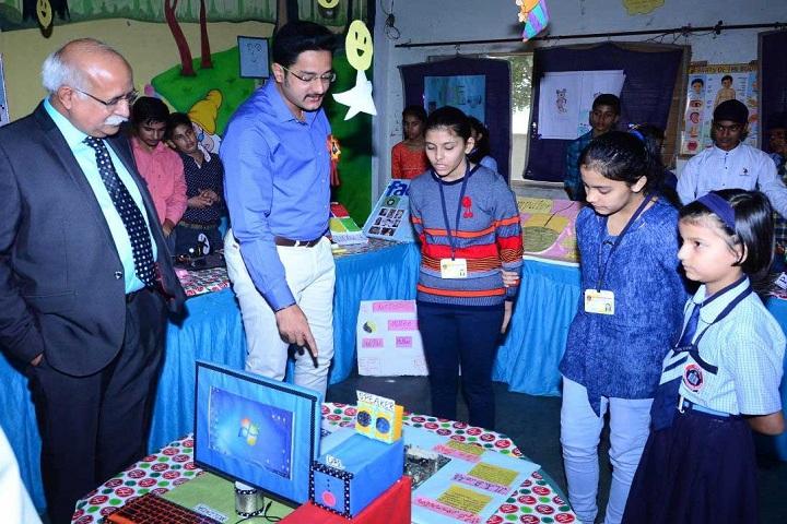H R A International School-Science Fair