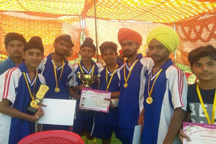 Guru Teg Bahadur International School-Award Winners