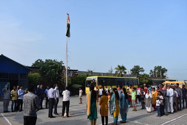 Gobind International Public School-Republic day