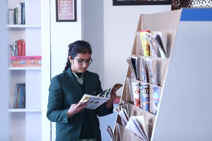 Gobind International Public School-Library