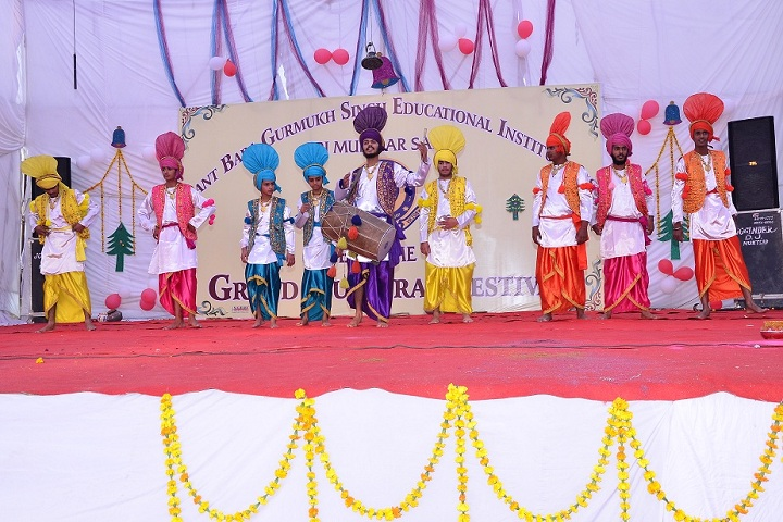 Sant Baba Gurmukh Singh International School-Cultural Dance