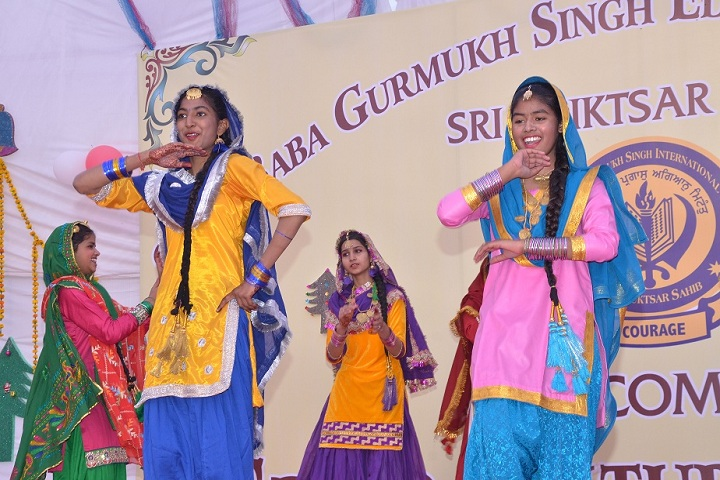 Sant Baba Gurmukh Singh International School-Dance