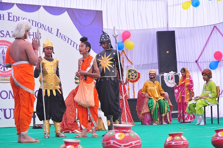 Sant Baba Gurmukh Singh International School-Drama
