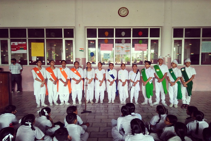 Sant Baba Gurmukh Singh International School-Independance Day
