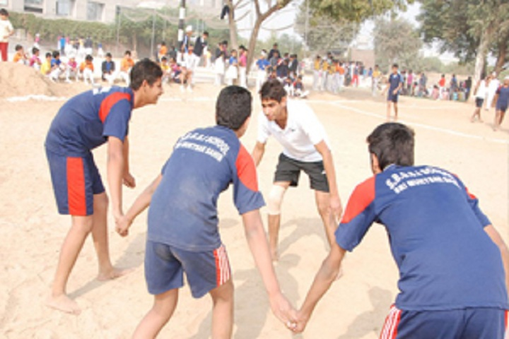 Sant Baba Gurmukh Singh International School-Kabbadi