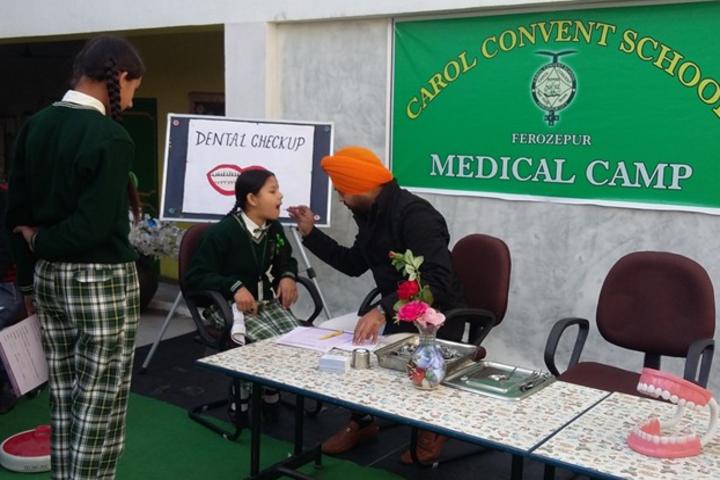 Carol Convent School-Medical Camp