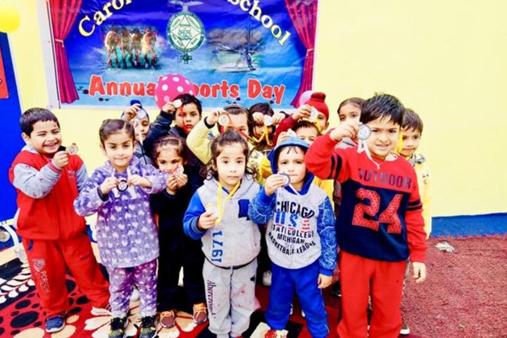 Carol Convent School-Sports Day Winners