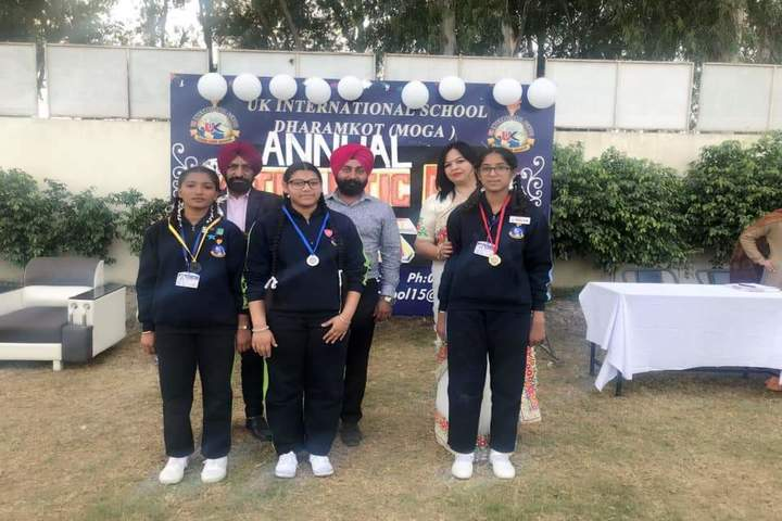 U K International School-Medal Distribution