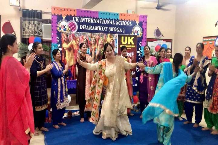 U K International School-Teej Celebrations