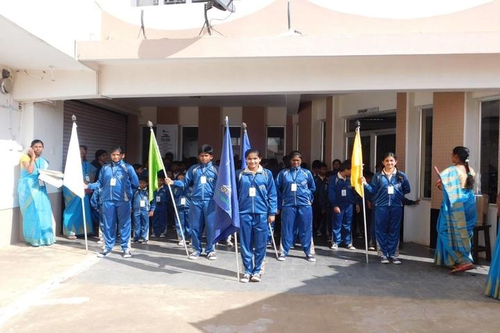 International Community School Junior College-March Past