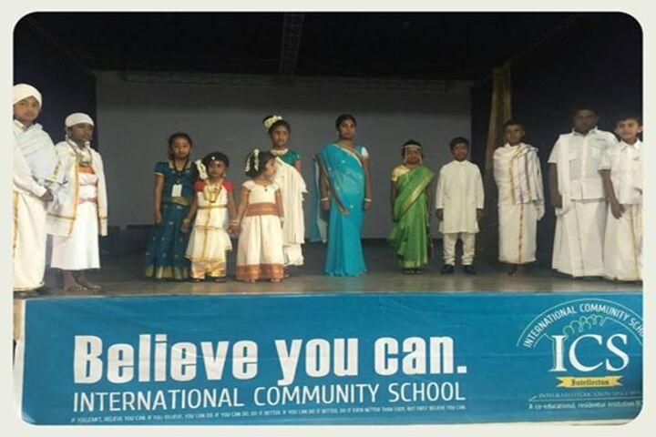 International Community School Junior College-World Mother Language Day