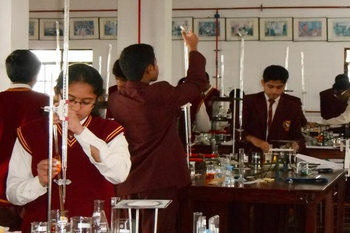 St Judes Public School Junior College-Chemistry Lab