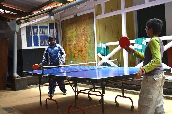 The Blue Mountains School-Tennis Ball Court