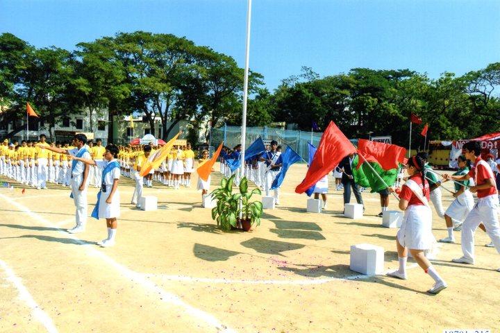 Sishya-Inter House Sports Meet