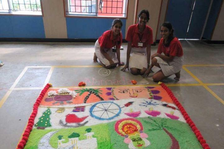 Sishya-Rangoli Competition