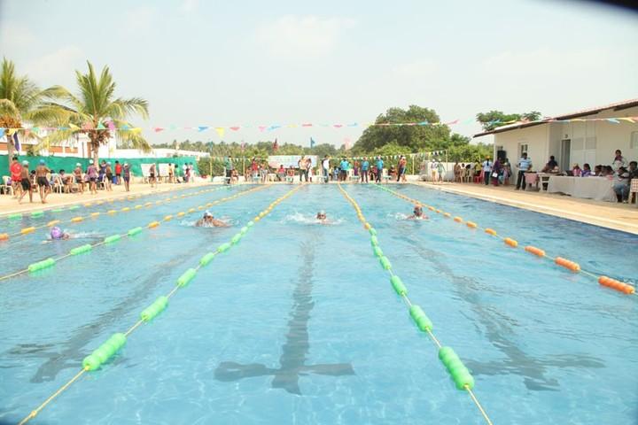 The Vikasa School-Swimming