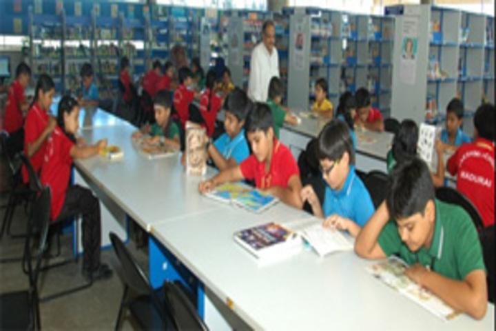 Lakshmi School-Senior Library
