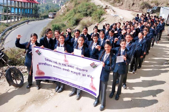 Jawahar Navodaya Vidyalaya-NSS Students