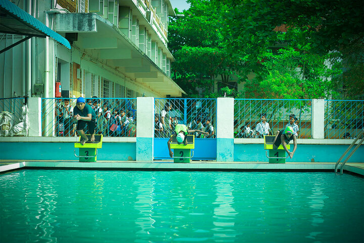 Excel Central School-Swimming